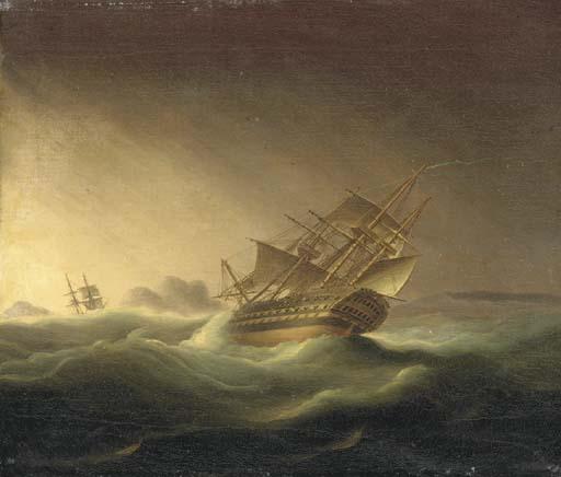 Thomas Buttersworth (British, 1768-1842)
