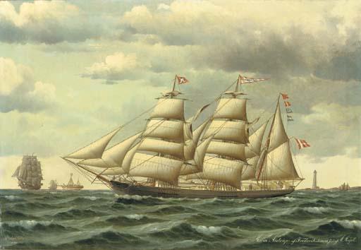 Jorgan Dahl (Danish, 1825-1890