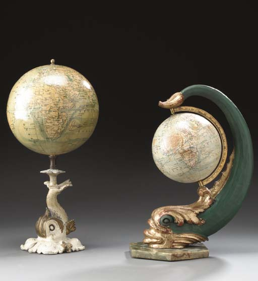 A Pair of Terrestrail Globes w