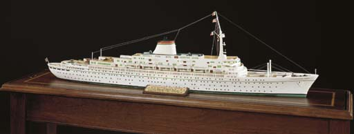 A travel agents display model
