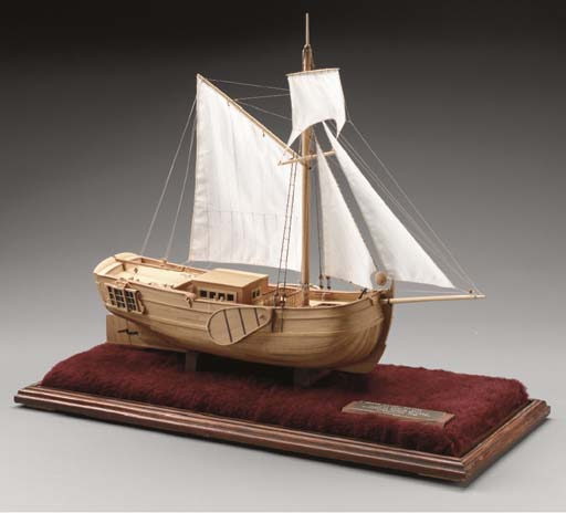 A Model of a Dutch Yacht pre-1