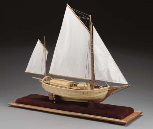 A scale model of Joshu Slocum'