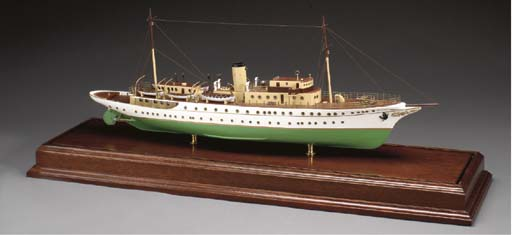A Sailor's model of a Steam Ya