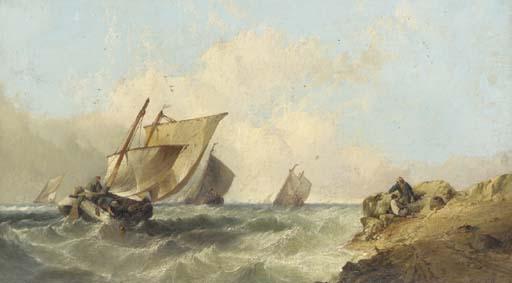 Alfred Montague (British, fl.