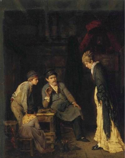 Adolf Echtler (German, 1843-19