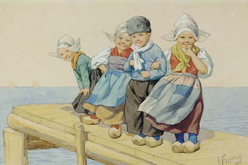 Karl Feiertag (Austrian, 1874-