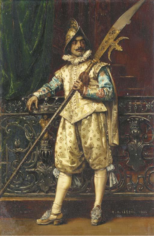 Adolphe Alexandre Lesrel (Fren
