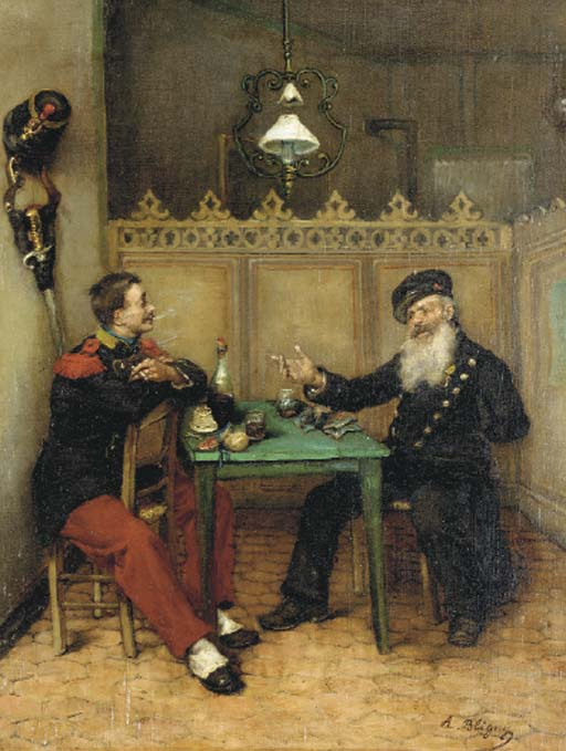 Albert Bligny (French, 1849-19