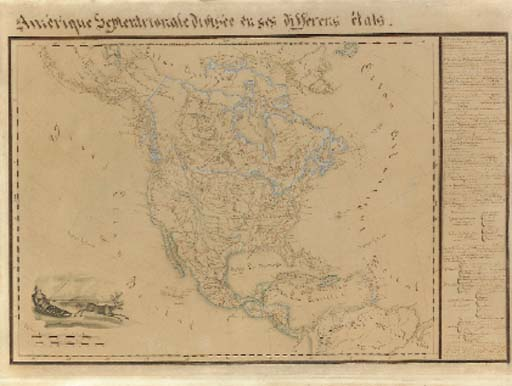 [MANUSCRIPT MAP].