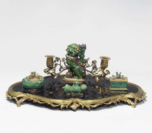 A LOUIS XV STYLE LACQUER, PORC