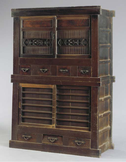 A TWO-TIERED TANSU,