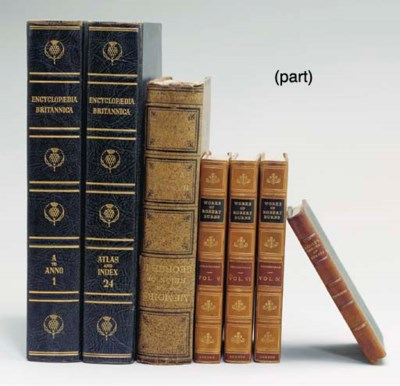 AN EXTENSIVE GROUP OF BOOKS