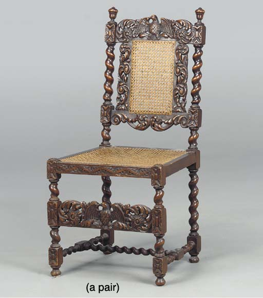 A PAIR OF FLEMISH BAROQUE STYL