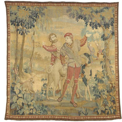 A RENAISSANCE STYLE TAPESTRY