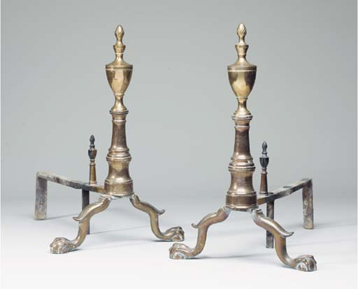 A PAIR OF FEDERAL BELL-METAL A