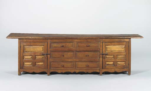 AN OAK AND ASH BUFFET