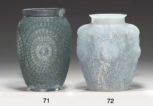 'DOMREMY', AN OPALESCENT GLASS