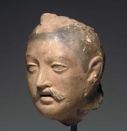 A Terracotta Head of a Man