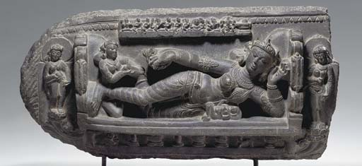 A Black Stone Stele of Shiva G