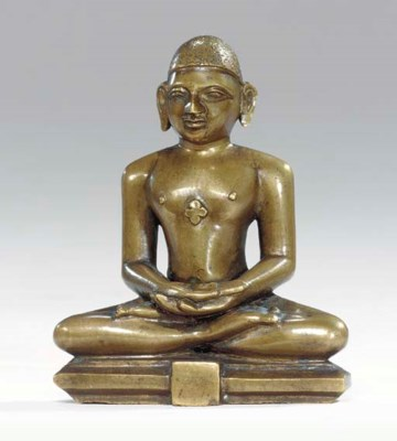 A Bronze Figure of a Jina