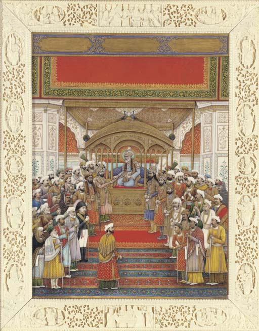 The Delhi Darbar of Akbar II (