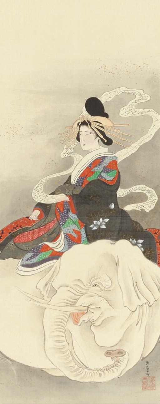 Ochiai Yoshiiku (1833-1904)