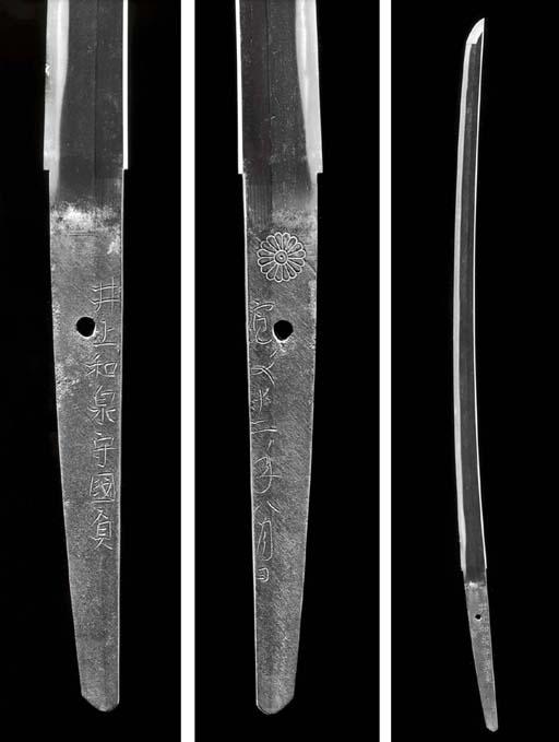 A Shinto Long Blade (Katana)
