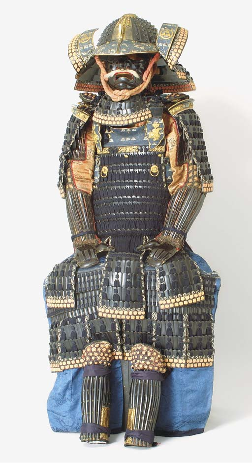 A Black-Lacquer Suit of Armor