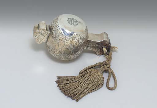 A Silver Okimono