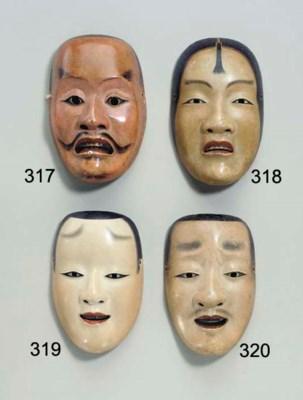 Noh Mask of Kokatsushiki (Acol