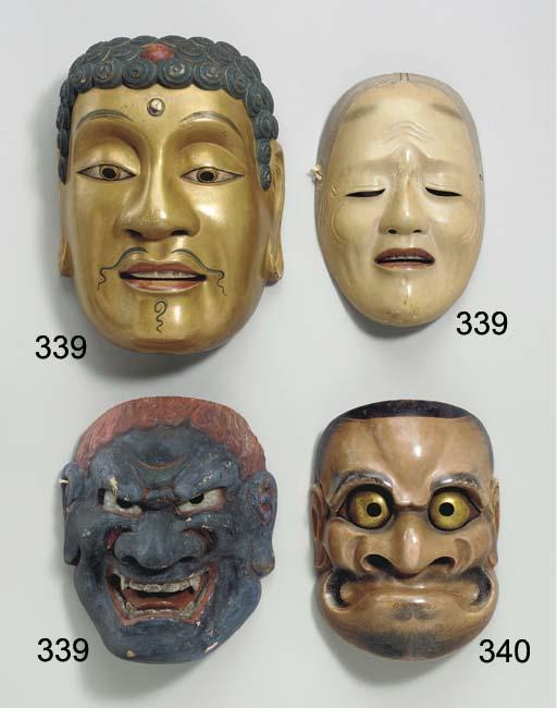 Noh Mask of Shaka Buddha (Shak