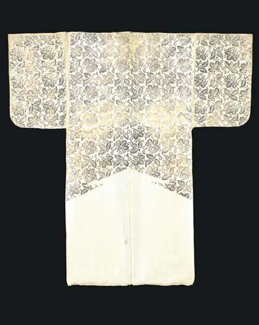 Two Surihaku Noh Costumes