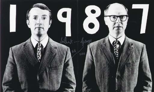 GILBERT & GEORGE (B. 1943 and
