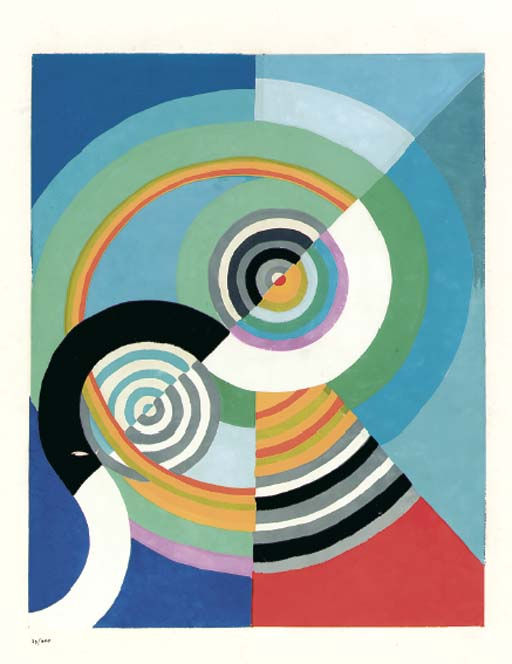 AFTER ROBERT DELAUNAY (1885-19