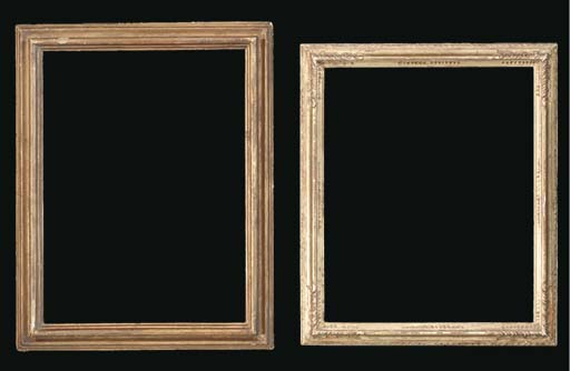 A GROUP OF TWO DRAWINGS FRAMES