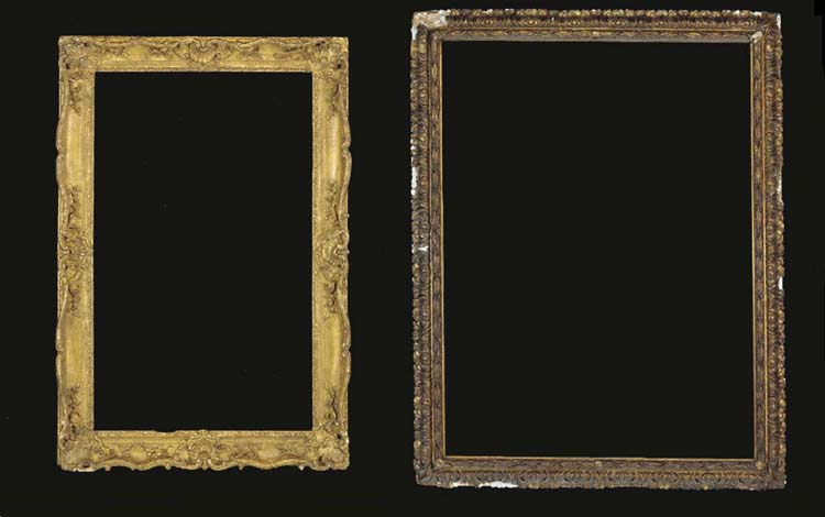 A GROUP OF TWO FRAMES