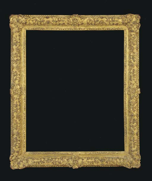 A FRENCH LOUIS XIV STYLE FRAME
