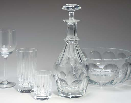 AN EXTENSIVE BACCARAT GLASS TA