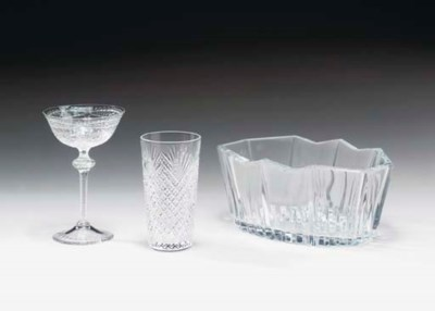 A GROUP OF BACCARAT AND OTHER