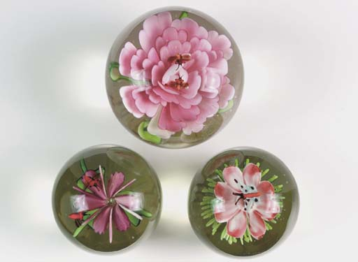 FOUR CHINESE WEIGHTS,