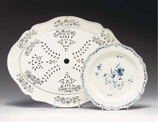 A WEDGWOOD QUEENSWARE MAZAREIN