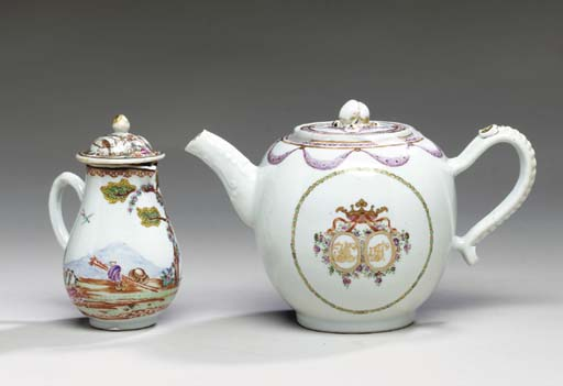A CHINESE EXPORT PORCELAIN MAR
