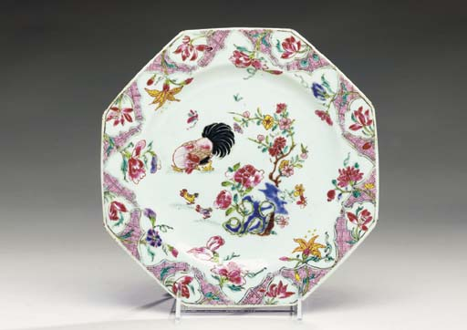 A CHINESE EXPORT PORCELAIN OCT