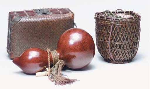 A GROUP OF THREE WOODEN BOXES,