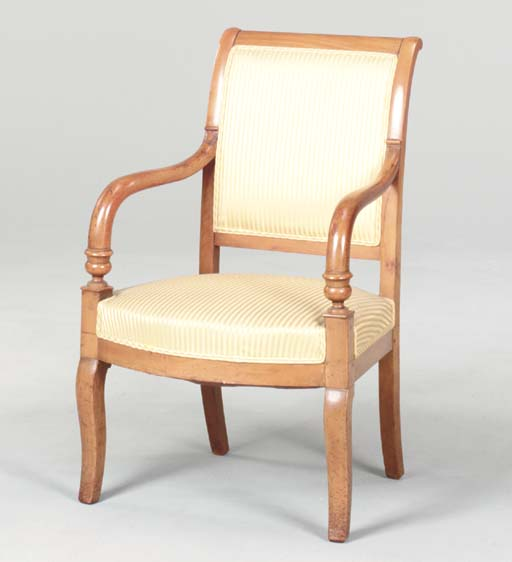 A PAIR OF CHARLES X FRUITWOOD