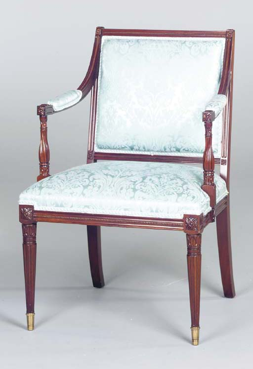 A PAIR OF LOUIS XVI STYLE MAHO