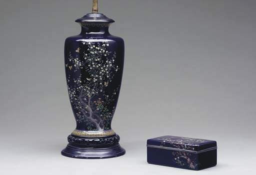 A PAIR OF CHINESE ENAMEL VASES
