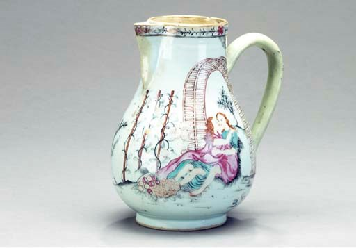 A CHINESE EXPORT PORCELAIN EUR