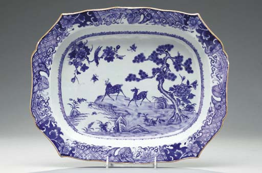 A CHINESE EXPORT PORCELAIN 'BL