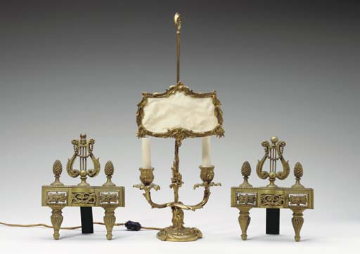 A PAIR OF LOUIS XVI STYLE CHEN